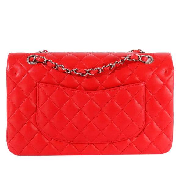 Chanel 2.55 Medium Bag Red Lambskin