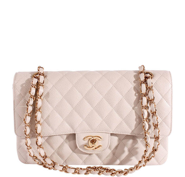 Chanel 2.55 Medium Bag Light Gray