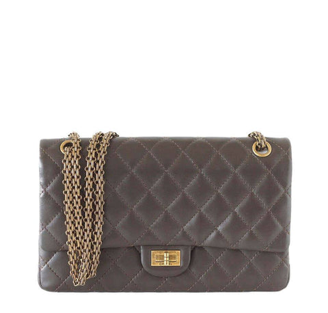 Chanel 2.55 Bag Dark Khaki