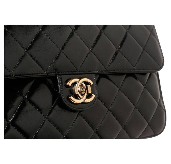 Chanel Medium Perfect Edge Black New detail
