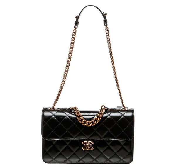 Chanel Medium Perfect Edge Bag Black