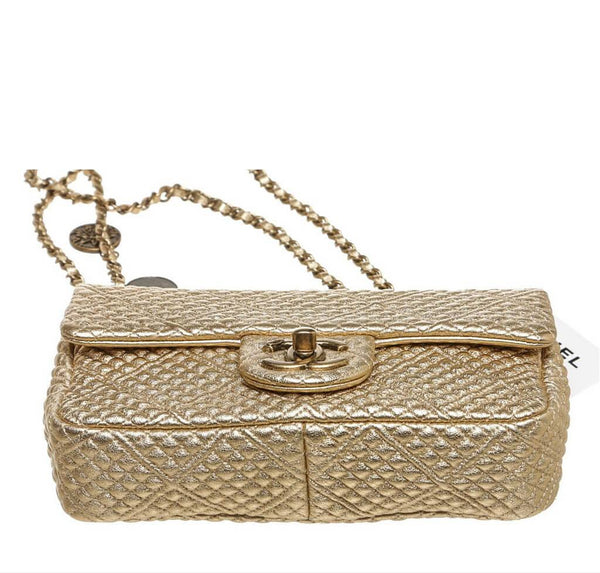 chanel 15C coin classic gold new bottom