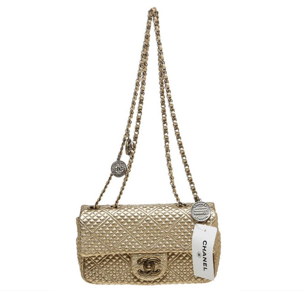 8ebfa1e51627 Chanel 15C Coin Classic Bag Gold