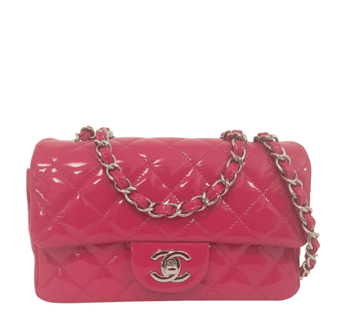 Chanel Classic Mini Flap Bag Fuschia