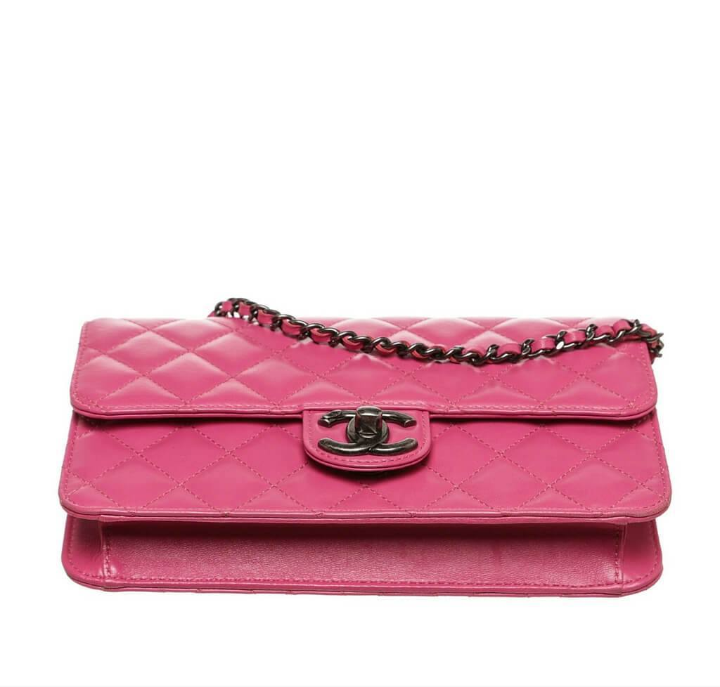 6bfec25f58e4 Chanel Crossing Times Bag Pink - Lambskin Leather SHW | Baghunter