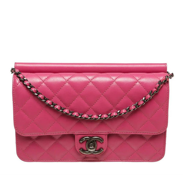 Chanel Crossing Times Bag Pink