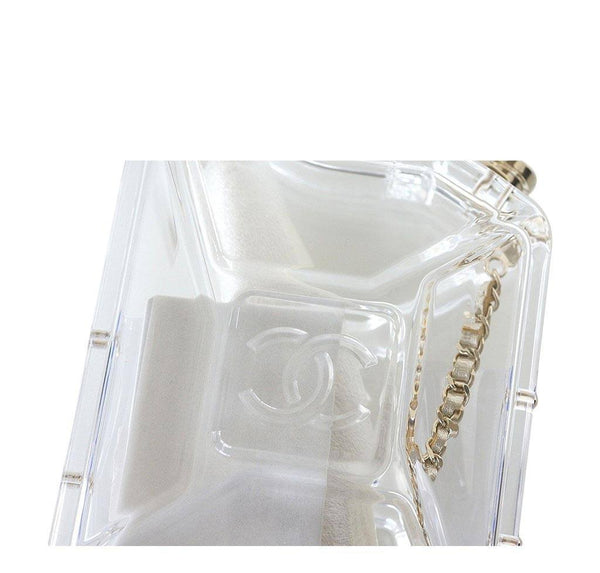 chanel jerry can bag runway clear plexiglass limited edition cruise new detail