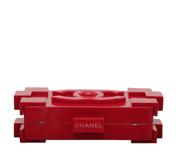 Chanel Lego Brick Red Used Top