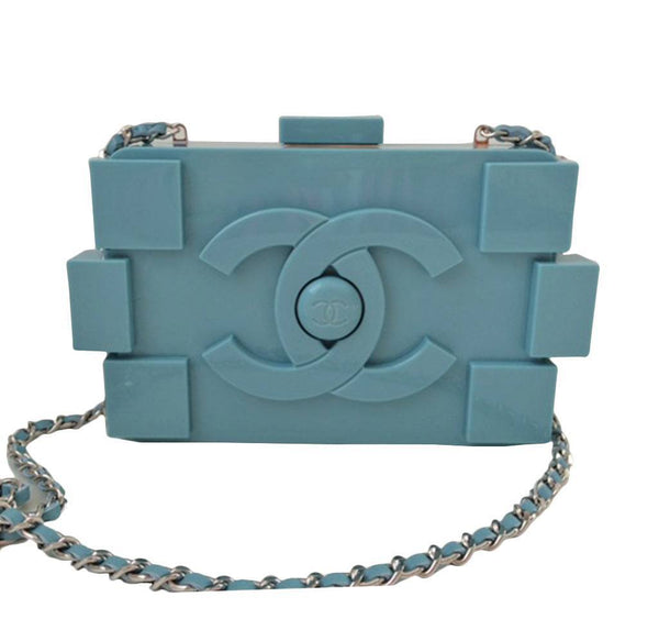 Chanel Lego Brique Bag Purple