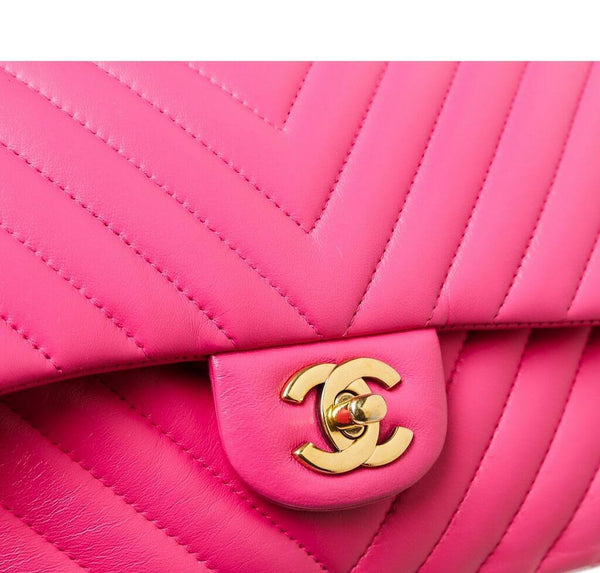 Chanel Classic Medium Flap Bag Pink