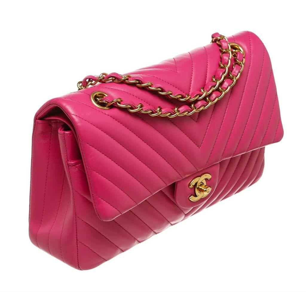 058d3209cd Chanel Classic Medium Flap Bag Pink Chanel Classic Medium Flap Bag Pink ...