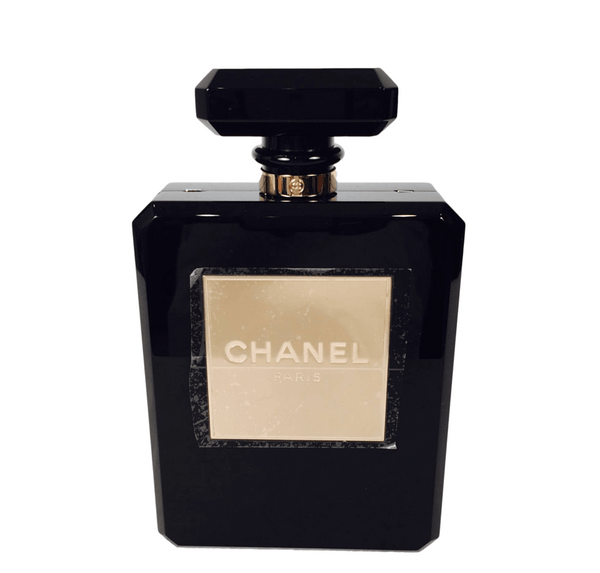 Chanel Perfume Bottle Bag Plexiglass