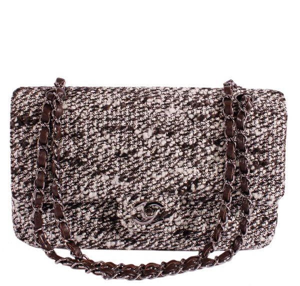 Chanel 2.55 Medium Bag Tweed