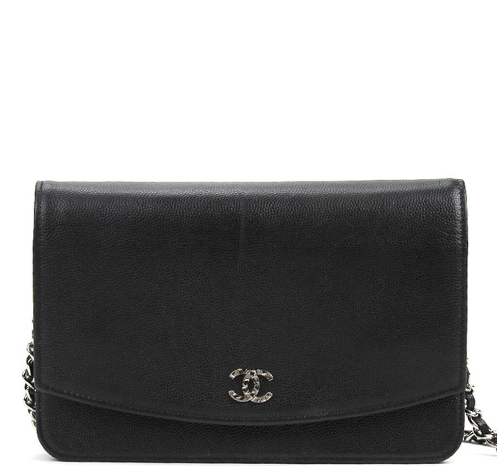 60acc9b4b5 Chanel WOC Bag Black Caviar Leather