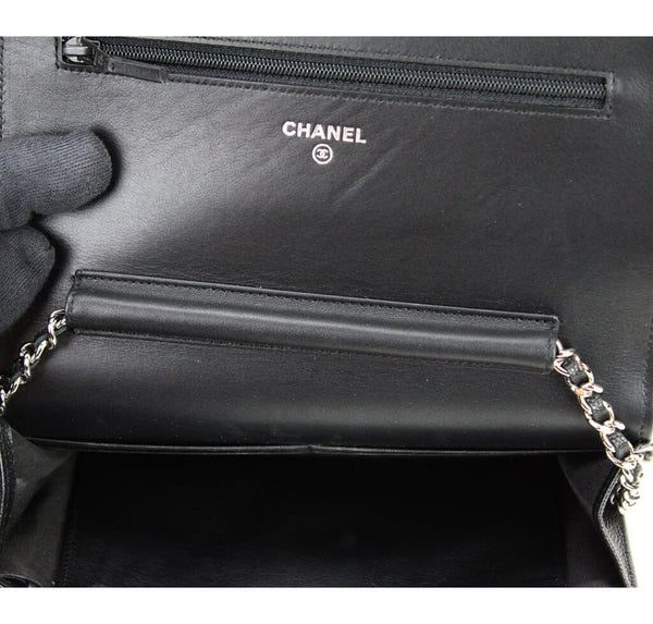 Chanel WOC Bag Black Caviar Leather