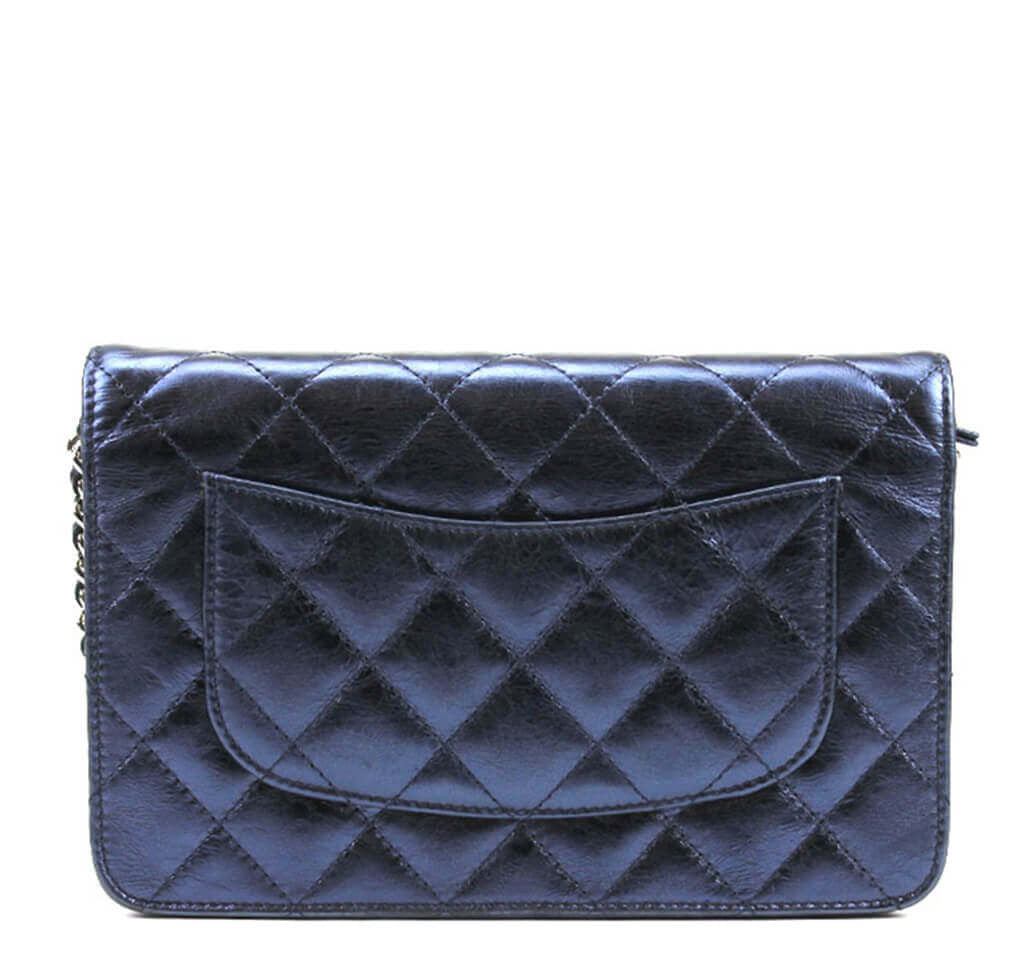 02ce641ceb8dd7 Chanel WOC Bag Dark Blue Lambskin Chanel WOC Bag Dark Blue Lambskin ...