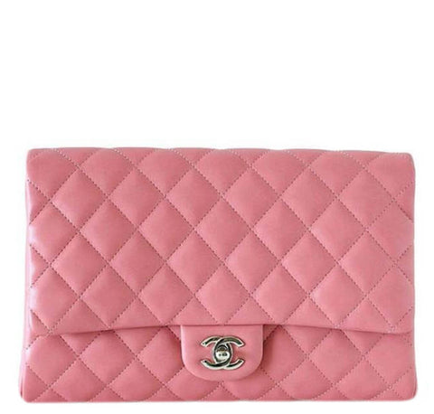 Chanel WOC Bag Lambskin Leather Pink