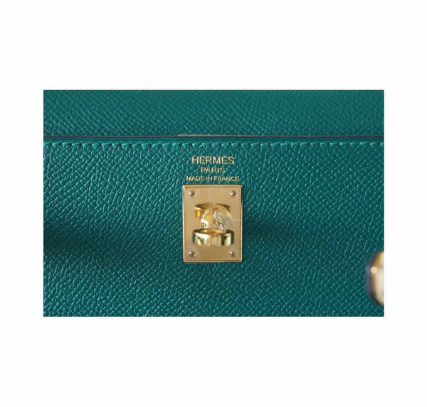 hermes kelly sellier 28 malachite new embossing