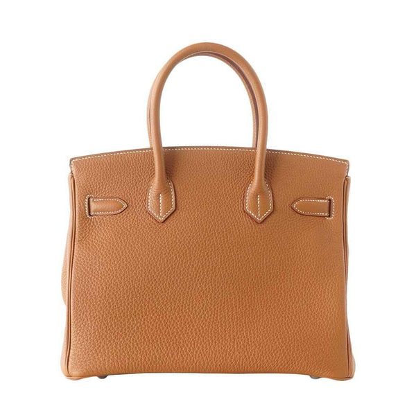 Hermes Birkin 30 Gold new back