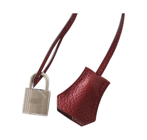 Hermes Birkin 30 Rouge H new lock