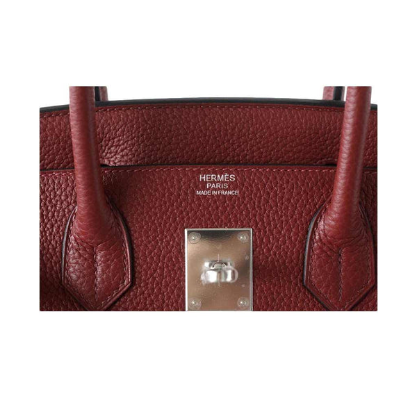 Hermes Birkin 30 Rouge H new embossing