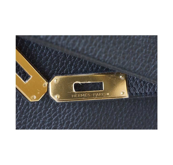 Hermes Kelly 32 Black new engraving