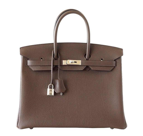 Hermes Birkin 35 Ecorce Togo Bag