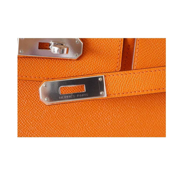 Hermes Birkin 35 H Orange new engraving