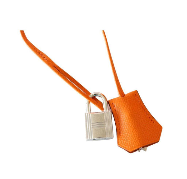 Hermes Birkin 35 H Orange new lock