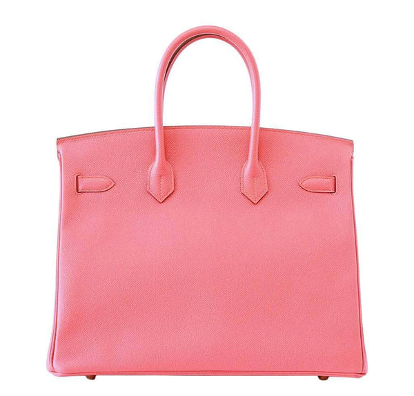 Hermes Birkin 35 Flamingo new back