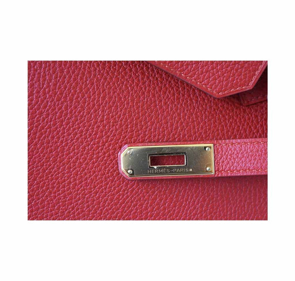 hermes birkin 35 vermillion new engraving