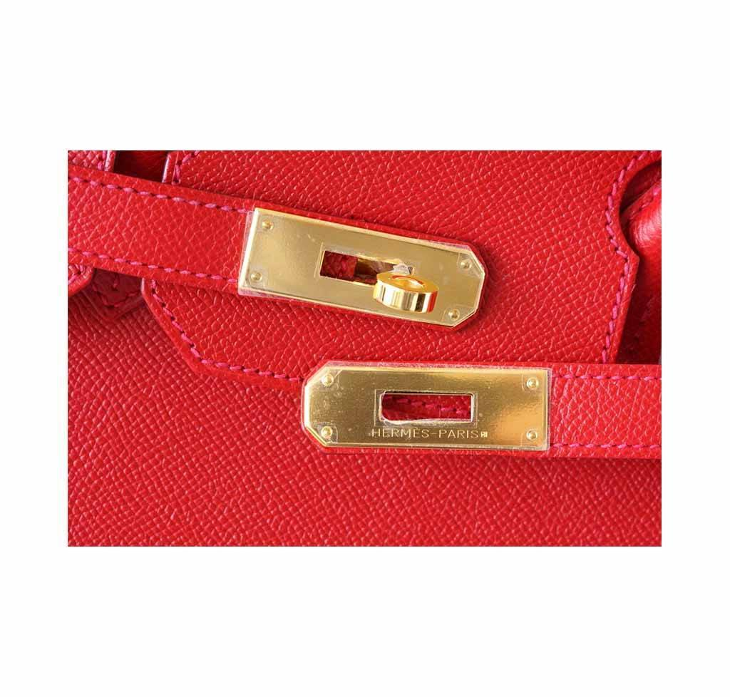 33c44ffca65b ... Hermes Birkin 35 Rouge Casaque new engraving ...