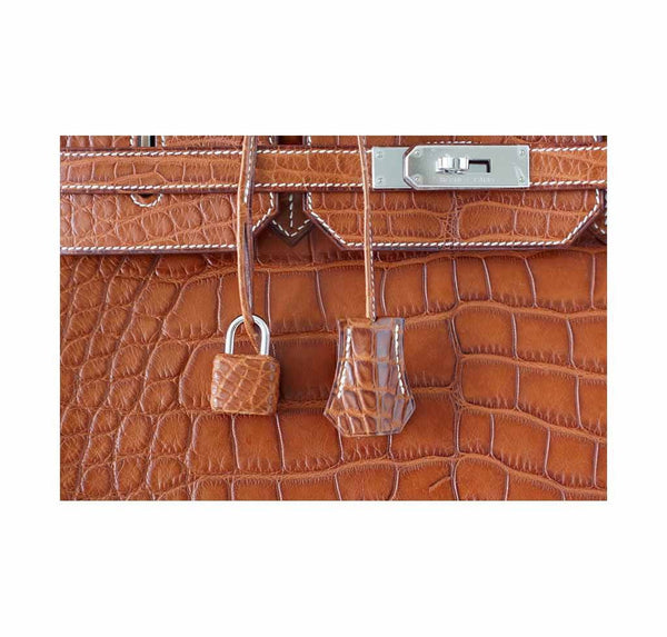 hermes birkin 40 fauve alligator new detail