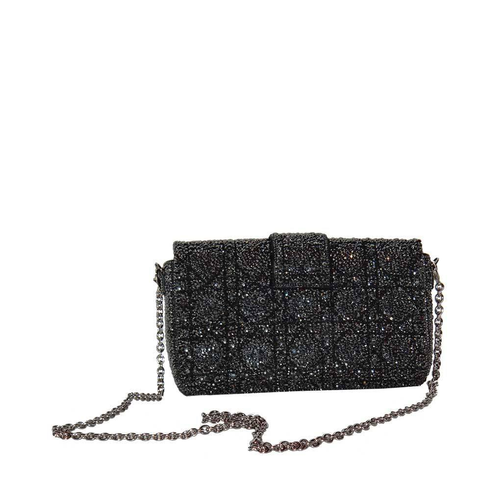 373c3669e35e Dior Custom Crystal Bag dior crystal bag customized swarovski used back ...
