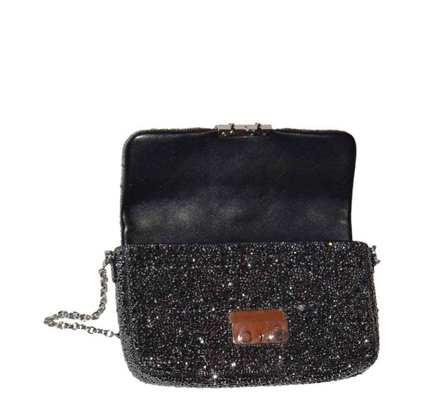dior crystal bag customized swarovski used open