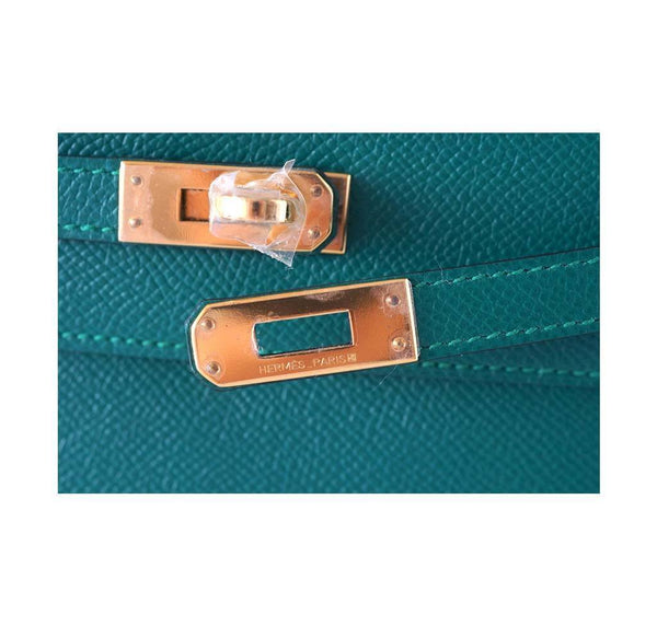 Hermes JPG Kelly Pochette Malachite new engraving