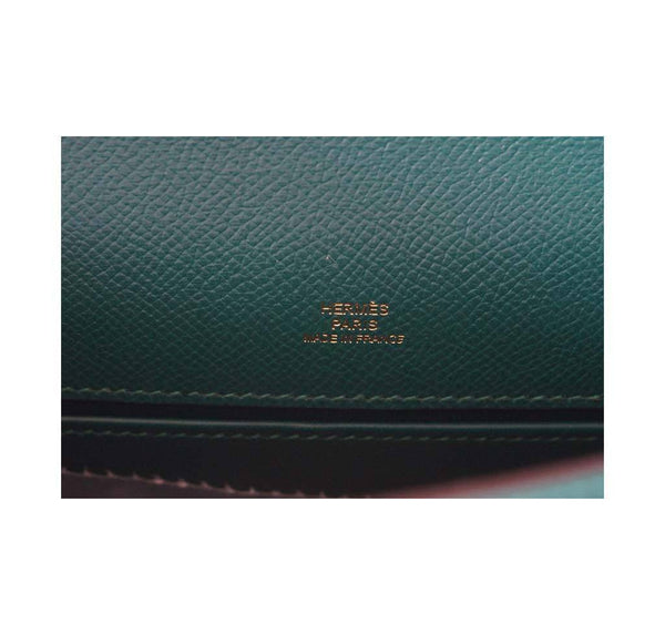 Hermes JPG Kelly Pochette Malachite new embossing
