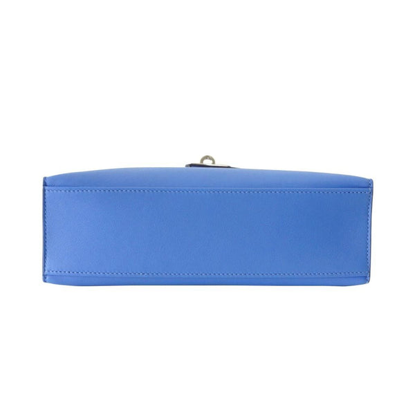 Hermes JPG Kelly Pochette Blue Paradise new bottom