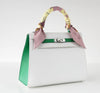 Hermes Kelly Sellier HSS 25 White Epsom Palladium excellent accessory