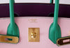 Hermès Birkin 30 Tri-Color Chevre Horseshoe gold pristine embossing