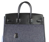 Hermes Birkin 35 Limited Edition Denim Shadow excellent back