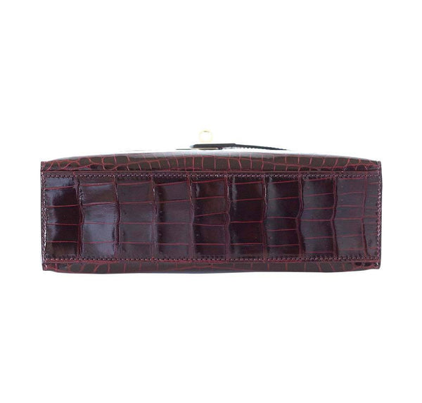 Hermes JPG Kelly Pochette Bordeaux new bottom