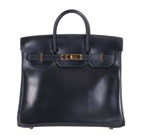 Hermes HAC 32 Black Bag