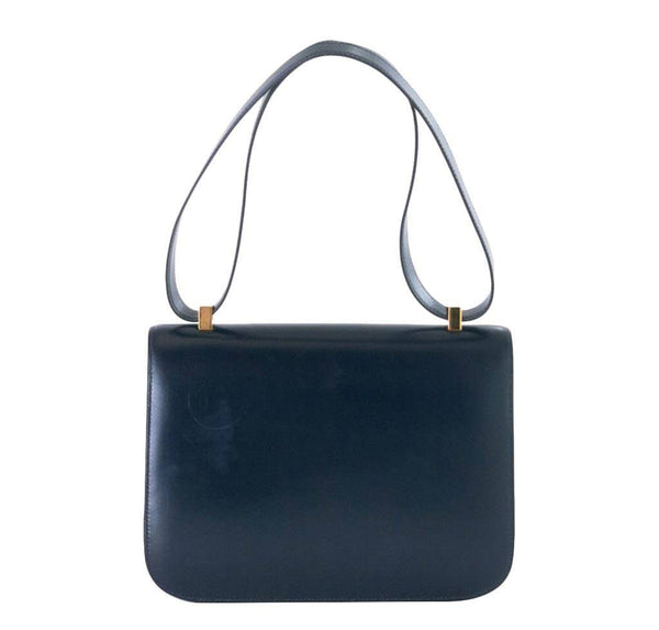 hermes constance 23 navy used back
