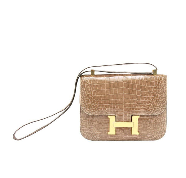 Hermes Constance 23 Light Beige Bag