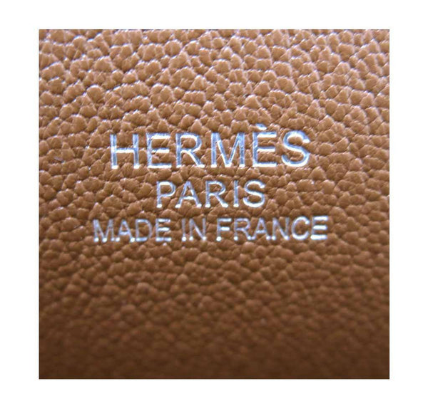 hermes jypsiere 34 gold used embossing