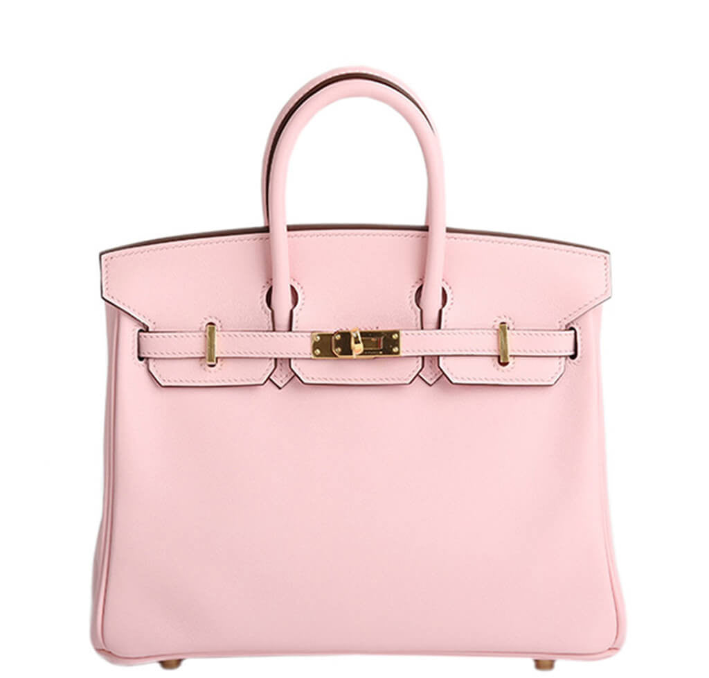 68c5a91c622d Hermès Birkin 25 Bag Rose Sakura Pink - Gold Hardware Swift Leather ...