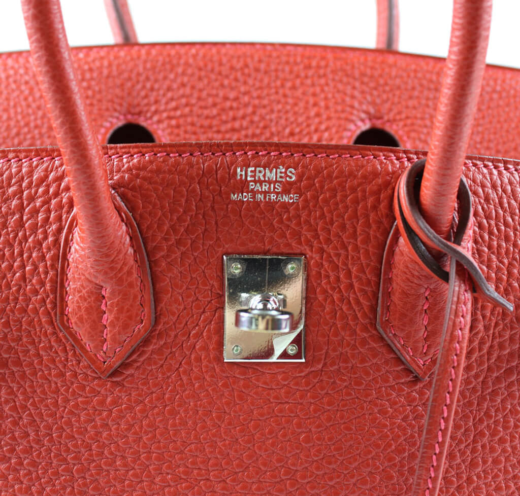 1b271eb6fb6d ... sale hermes birkin 25 bag vermillion palladium 89e66 ff7df