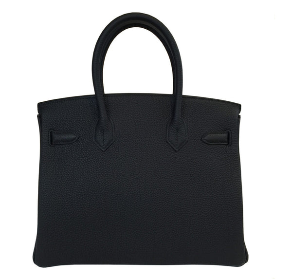 Hermes Birkin 30 Bag Black Togo