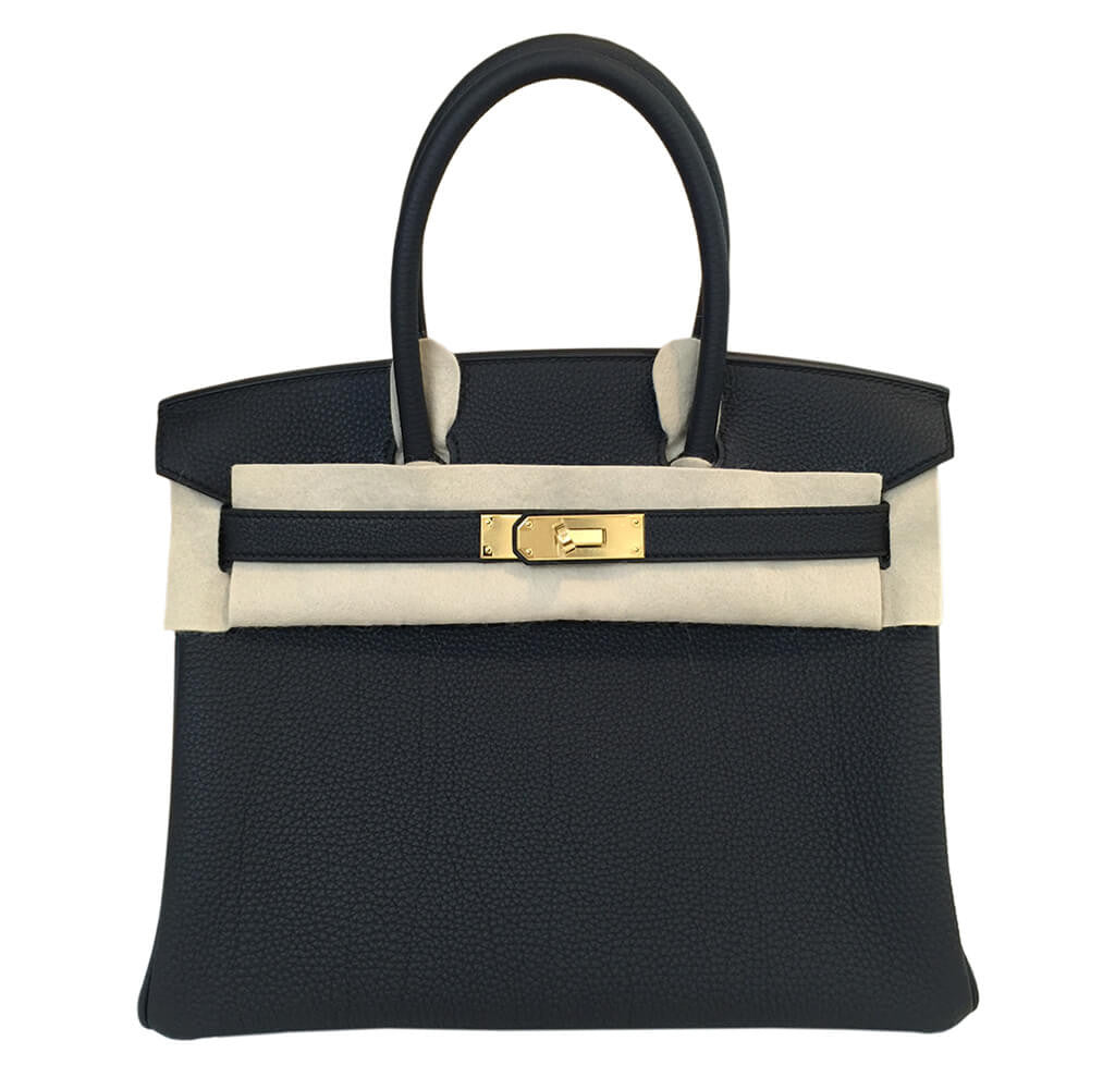 72579e7fef9d Hermès Birkin 30 Bag Black Togo Leather - Gold Hardware